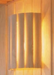 Saunalamp kiefer wandmodel