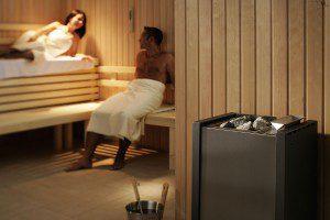 Sauna met EOS Hercules oven