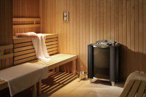 Sauna met EOS Germanius oven