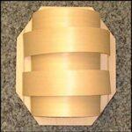 Saunalamp klein model