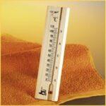 Thermometer voor sauna, met vloeistof