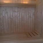 Koofverlichting sauna