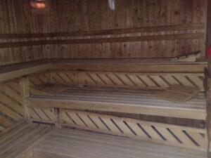 Sauna voor renovatie