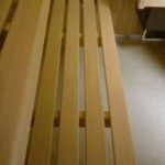 Saunabank 40cm