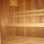 Sauna bankopstelling