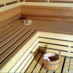 Saunabanken met bankafdichting