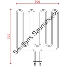 Ovenelement EOS 3300S