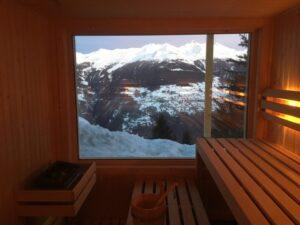 Sauna Iceberg te Zwitserland