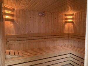 Gereviseerde sauna LEEF 2020